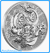 2021 Australia Chinese Myths And Legends - 1 Oz Silver Dragon