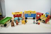 Vintage Fisher Price Little People 991 Circus Train And Accessories Complete