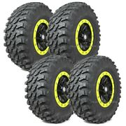 28 Maxxis Rampage Tires 14 Sti Hd9 Wheels Lime Squeeze Rzr 900 Trail Xc S