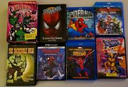 The Spectacular Spider-man The Complete Series 8 Dvd Lot Spiderman Collection