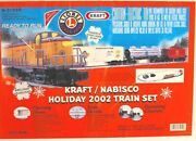 2002 Lionel Train Set - Kraft Nabisco Holiday With Oval Track - Limited Edition