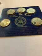 A Coin History Of The United States Us Presidents Minted In Solid Brass