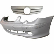 Set Bumper Front + Sports Grill Mercedes Clk W209 Year 02-05 For Pdc Sra