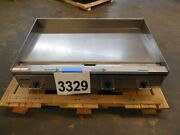 3329 New S/d - Vulcan Rapid Recovery Heavy Duty Electric Griddle Model Rre48e-3