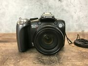 Canon Powershot Sx10 Is 10mp Digital Camera 20x Optical Zoom Tested, Read
