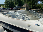 1999 Bayliner Capri 1850 Ls Right Side Curved Windshield Glass Whole Piece
