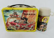 Vintage Man From Uncle Lunchbox And Thermos 1966