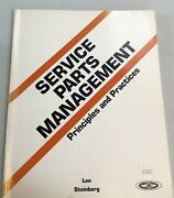 Service Parts Management Principles And Practices William B Lee Earle Steinberg