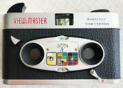 Viewmaster 3d Stereo Color Camera To Create You Own Viewmaster Reels