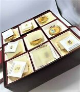 The Hummel Gold Christmas Ornament Complete Collection Set Of 36 Danbury Mint