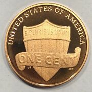 2017 S Lincoln Shield Gem Mint Deep Cameo Proof Cent / Penny 427