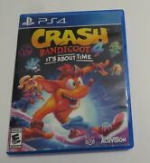 Replacement Case No Game Crash Bandicoot 4 Its About Time Playstation 4 Ps4