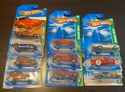 Lot Of 10 Hot Wheels Treasure Hunt Die Cast Cars T-hunt Th Ford Dodge Buick Fire