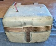 Vintage Car Heater - Works - New Wiring - Deluxe Red Head Heater - Vintage Truck