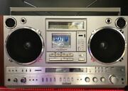 National Boombox Rx-7200 Station Moving Works Metal Tape Record Re-possible Fmam