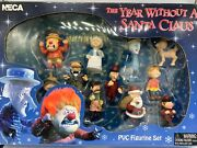 The Year Without A Santa Claus Pvc Figure Set Rankin Bass - Iob