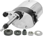 Model A Ford Electric Windshield Wiper Motor - 6 Volt - Stainless Steel Case -