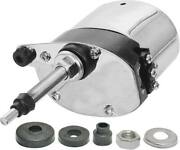 Model A Ford Electric Windshield Wiper Motor - 12 Volt - Stainless Steel Case -
