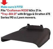 For Self-propelled Push Lawn Mower Craftsman And Troy-bilt Side Discharge Chute