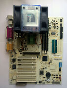 Rare Limited Abit St6e Mobo With Tua Piii-s 1.4ghz Cpu And 512mb Ram - Test Ok
