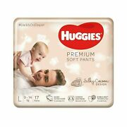 Huggies Premium Soft Pants With Silky Cocoon Large Size Diaper