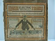 Lionel Prewar Outfit 93 From 1926 No 250 Locomotive + 629 And 630 Box And Track C6