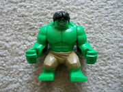 Lego Super Heroes - Rare Hulk - With Dark Tan Pants - From 6868 - Real Lego