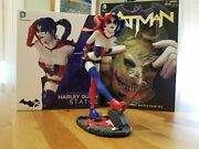Dc Cover Girls 2nd Ed Harley Quinn Statue And Batman Death Of The Family Book/mask