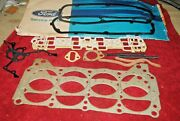 69 70 Nos Ford Shelby Mustang 351 W Engine Gasket Set C90z 6008 B Old Stock Corr