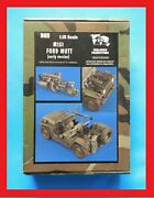 Verlinden 120mm 1/15 M151 Ford Mutt Early Version 985 Very Rear Kit