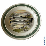 Portmeirion Compleat Angler 10 1/2 Dinner Plate Sea Trout