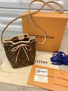 Brand New Louis Vuitton Nano Noe 100 Authentic Made In France Hard To Find
