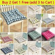 Cushion Chair Indoor Outdoor Dining Garden Patio Soft Chair Seat Pad Washable