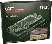 Kato N Scale Local Station Building Set 23-220 Train Model Supplies