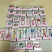 Sailor Moon Miniature Tablet Full Complete Lot Of 34 Candy Toy Shokugan Bandai