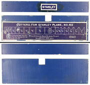 Orig. Blue Cutter Holder For Stanley No. 50 Combination Plane - Mjdtoolparts