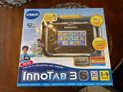 Vtech Innotab 3s Plus Wi-fi Learning Tablet Rotating Camera Videos And Mp3 Songs