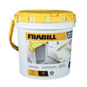 Frabill 4822 1.3 Gallon Insulated Bait Bucket With Clip On Aerator 14203 - New
