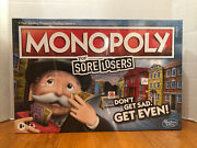 Monopoly For Sore Losers Limited Edition Collectors Edition Brand New And Sealed