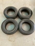 Set Of 4 Original 1973 Dated G60-15 Goodyear Polyglas Tires Excellent