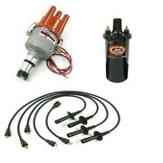 Ripper Ignition Kit, With Electronic Distributor, Black, Dunebuggy And Vw