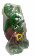 Funko Green Rat Fink Jumbo Coin Bank Used / Opened Items With Box From Japan