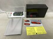 Makeup Scale Size 1/43 Toyota Pandem Gr Supra S/n 12/35 Used With Box From Japan