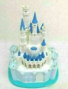 Tomy Disney Cinderella Castle With Micke And Minnie Figures/outer Box Toy Japan
