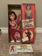 Hazelleand039s Popular Marionette Puppet Penny 810 Nice Example With Box