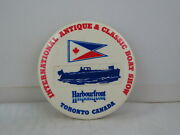 Vintage Boat Pin - International Antique And Classic Boat Show Toronto 1980s