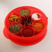 Tupperware Masala Keeper Spice It Container Red
