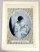 1937 Antique Print The Queen Mother Princess Elizabeth Baby British Royal Family