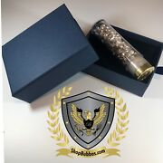 3 Oz .999 Silver Shot And Nuggets - One Bubba Shell W/ Gift Box