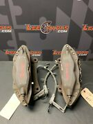 2013 Ford Mustang Gt Oem Track Pack Front Brembo Brakes Brake Calipers